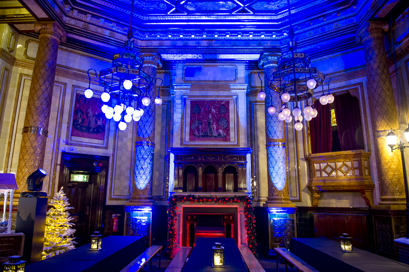 Dickensian theme, conference and party case study