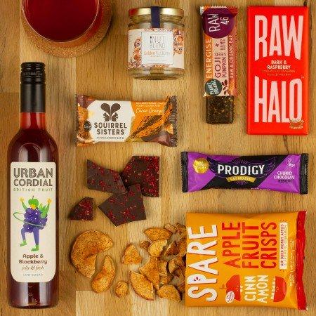 refined sugar free gift box, corporate hamper