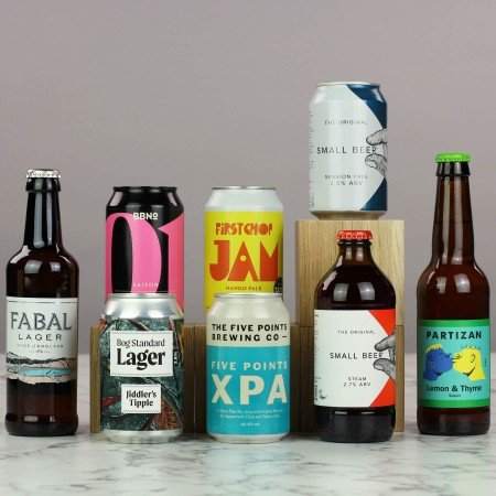 the light beer box
