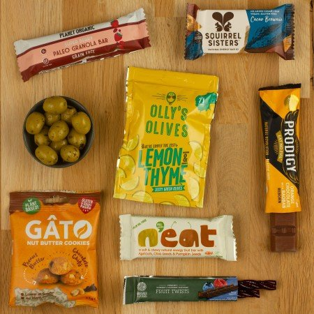 vegan snacks letterbox taster