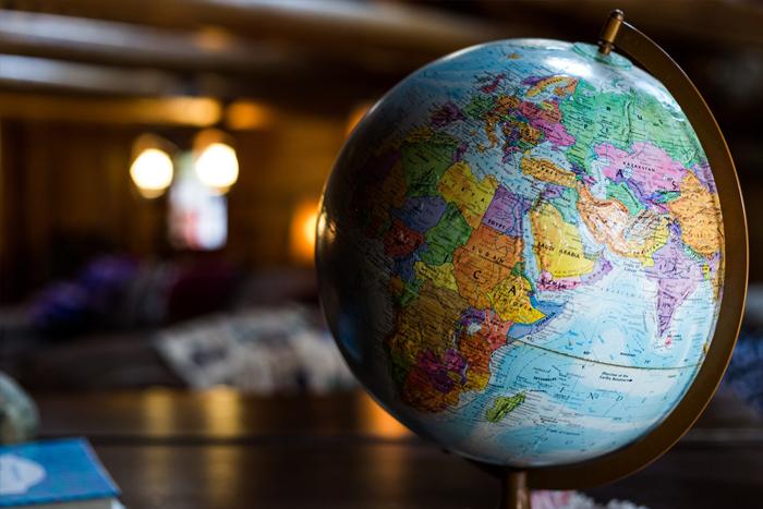 globe, virtual team build